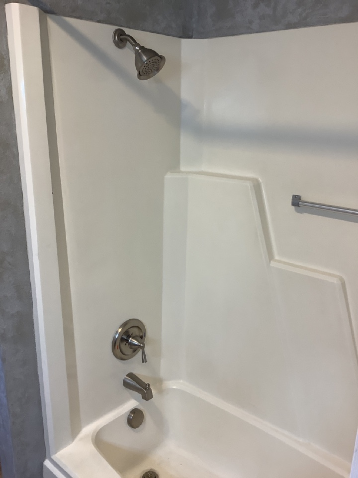 Redmond, OR - Installation of new moen tub shower valve and trim kit. Installation of new waste and overflow