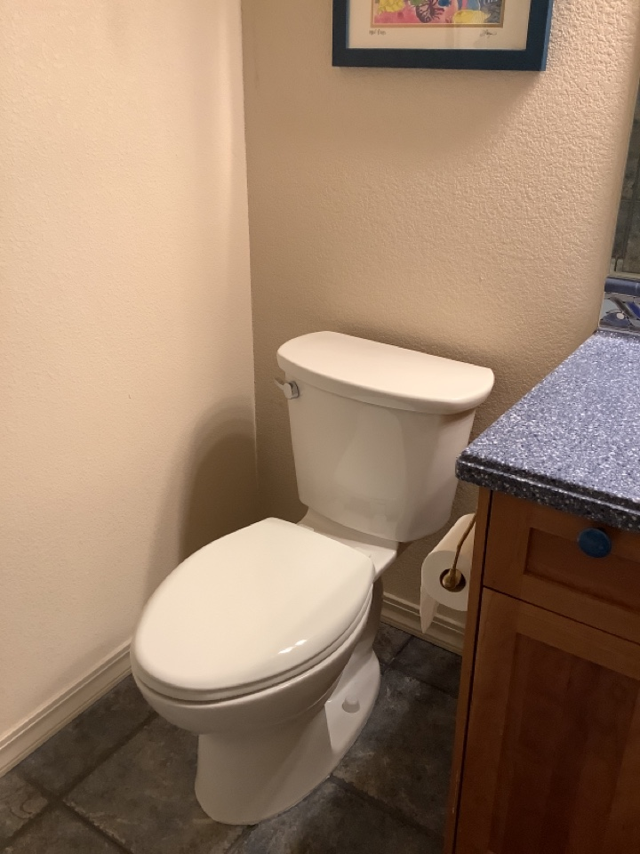 Bend, OR - Installation of 2 American Standard Cadet Pro toilets!