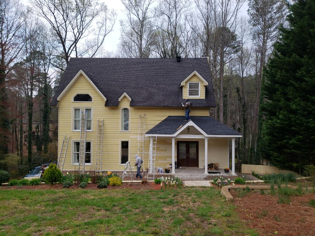 Duluth, GA - Painting entire exterior