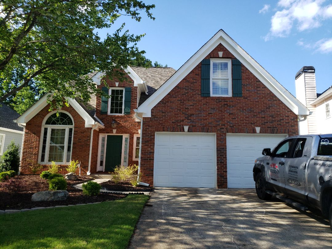 Norcross, GA - Painting the Exterior of the house