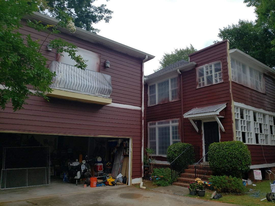 Painting entire exterior with Sherwin Williams Resilience