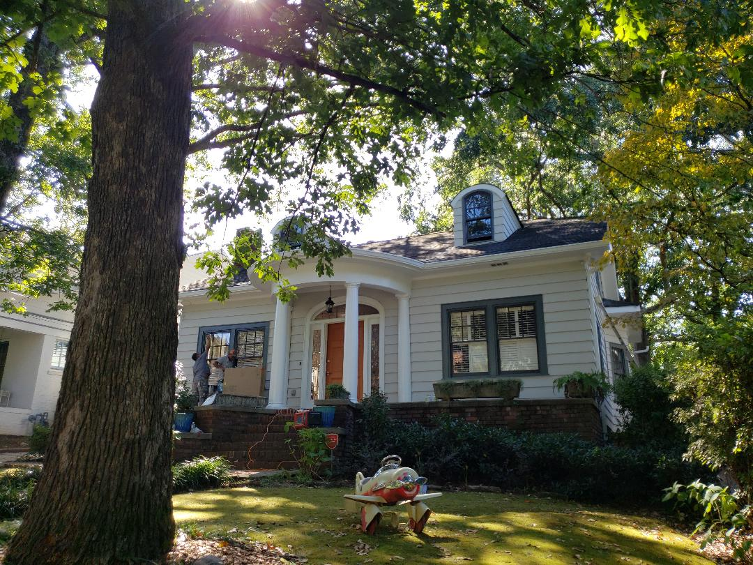 Painting the entire exterior with sherwin Williams Resilience