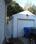 Painting exterior house, Hardie Board siding installation
