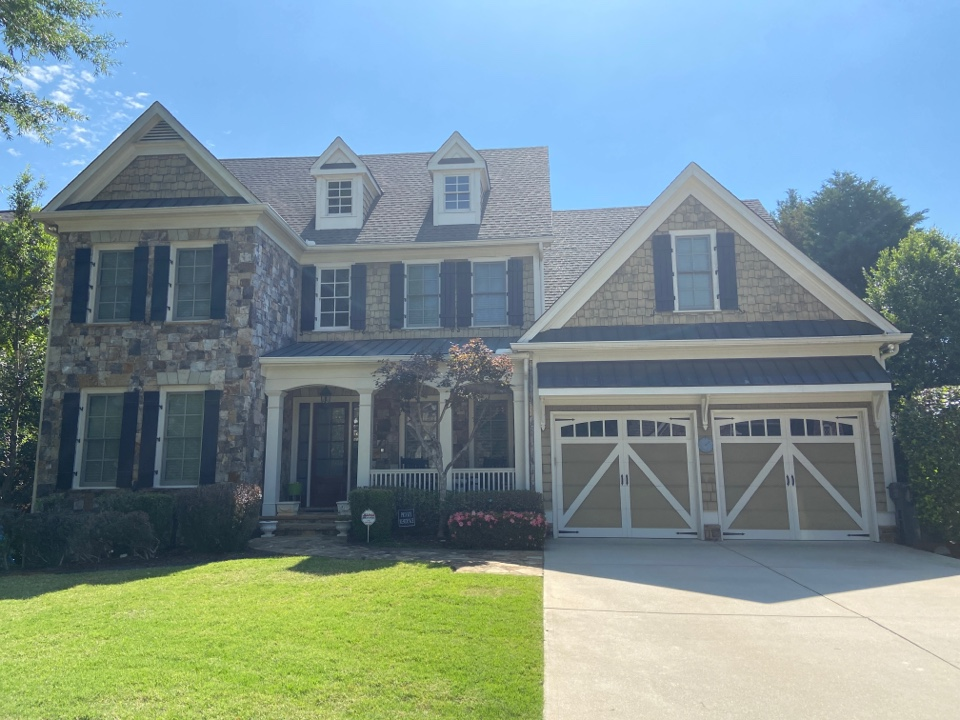 Kennesaw, GA - Estimating exterior painting using Sherwin Williams Resilience, carpentry, in Marietta