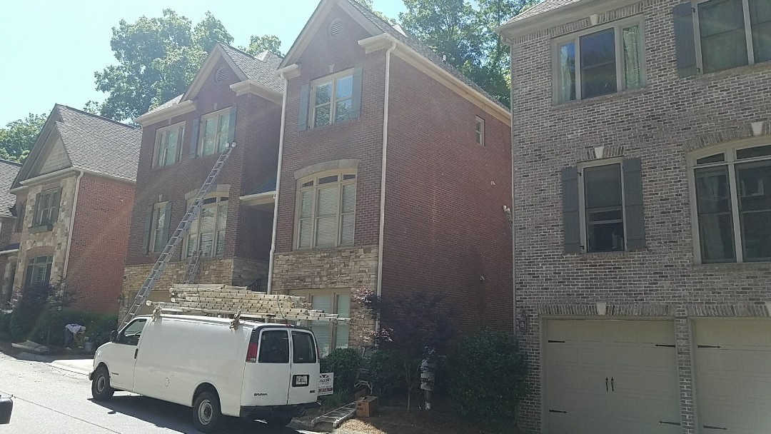 Atlanta, GA - Painting entire exterior with Sherwin Williams Resilience and interior painting with Duration Home.