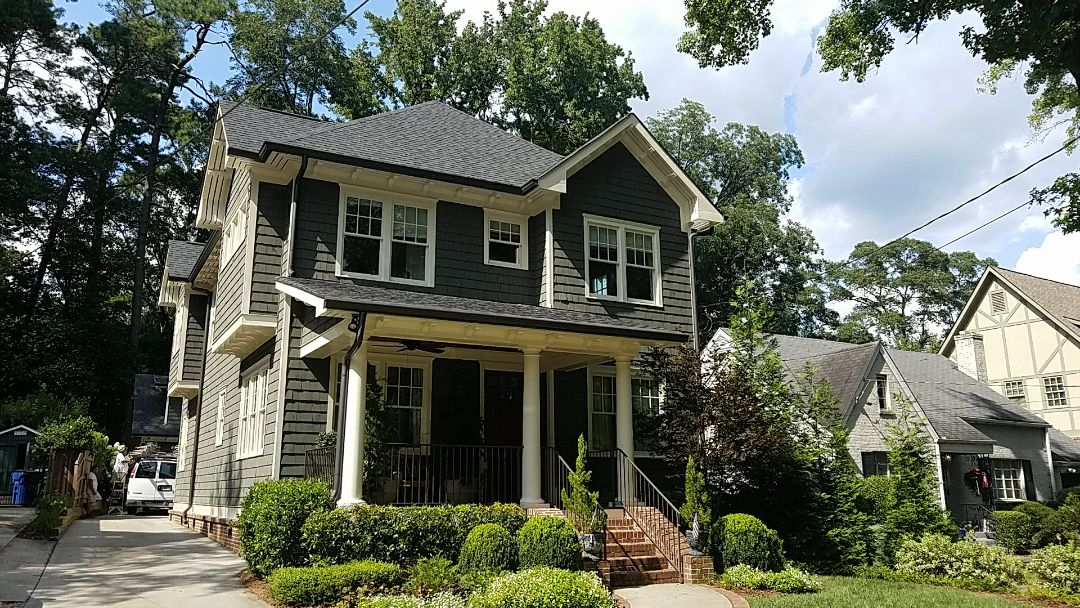 Atlanta, GA - Painting the exterior trim