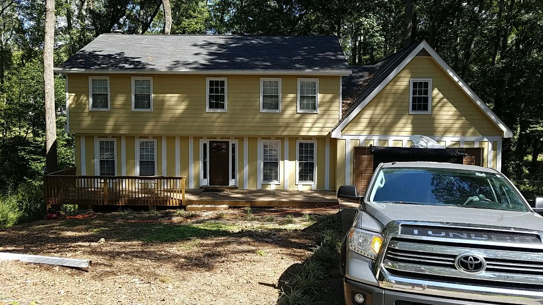 Roswell, GA - New siding, soffit and fascia in the entire house
