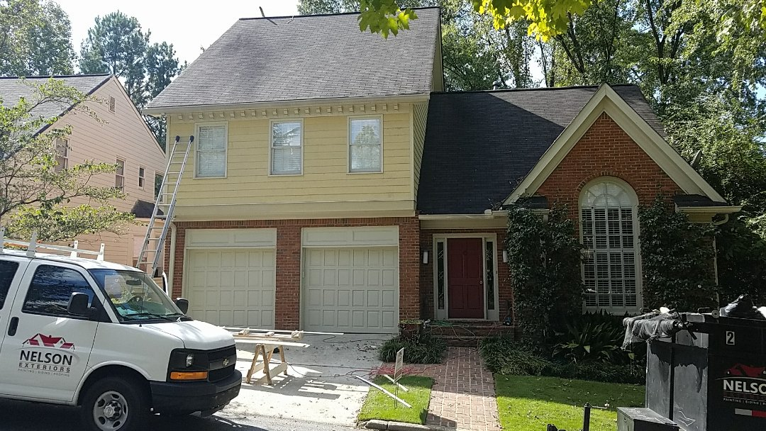 Atlanta, GA - New siding and Painting the entire exterior
