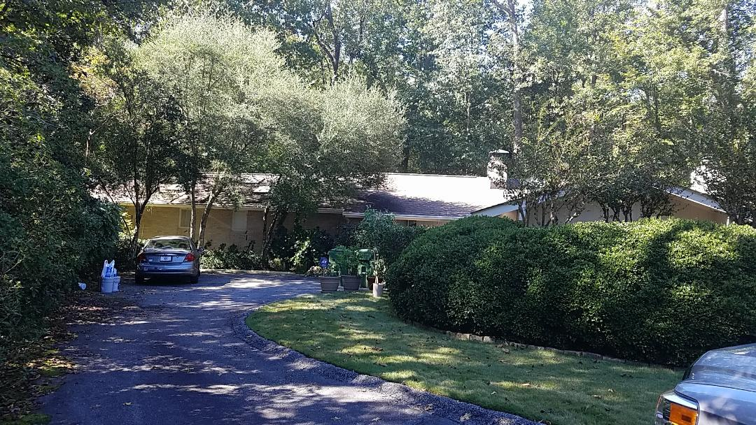 Atlanta, GA - Painting the exterior, including the deck and Interior Painting