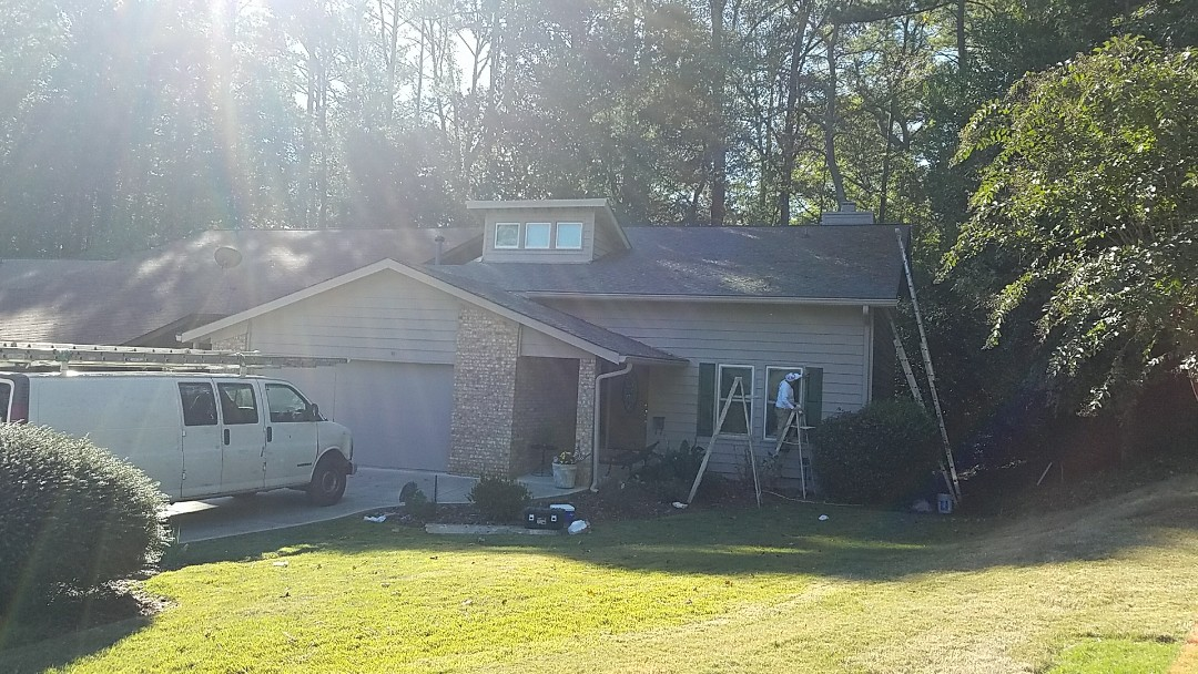 Roswell, GA - Painting entire exterior
