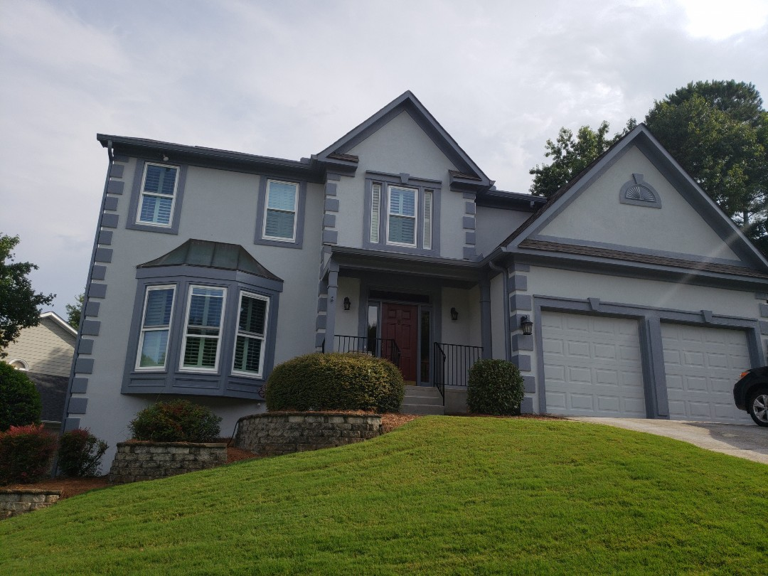 Norcross, GA - Finishing exterior and interior painting