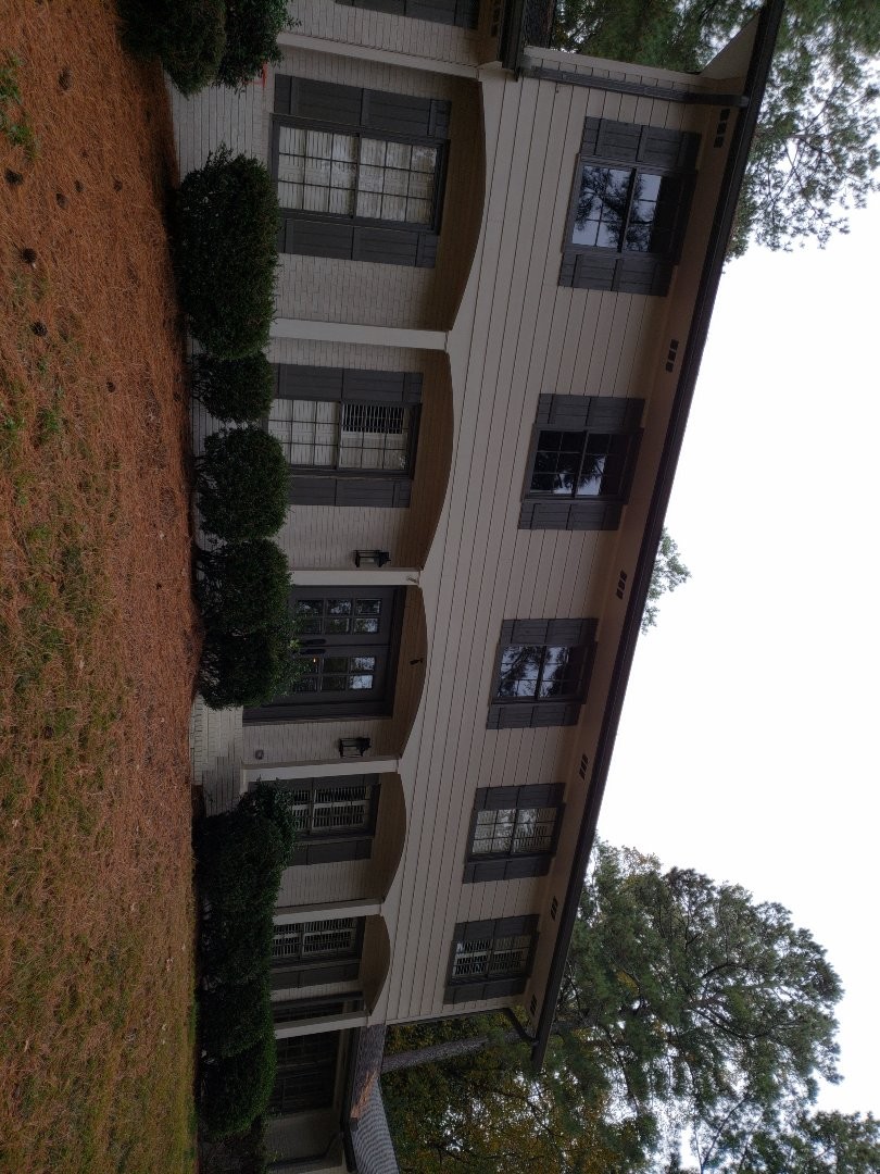 Sandy Springs, GA - Replacing rotten wood and painting the entire exterior