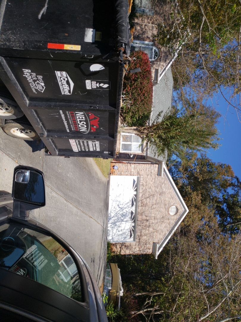 Lawrenceville, GA - Replacing all the siding on the house