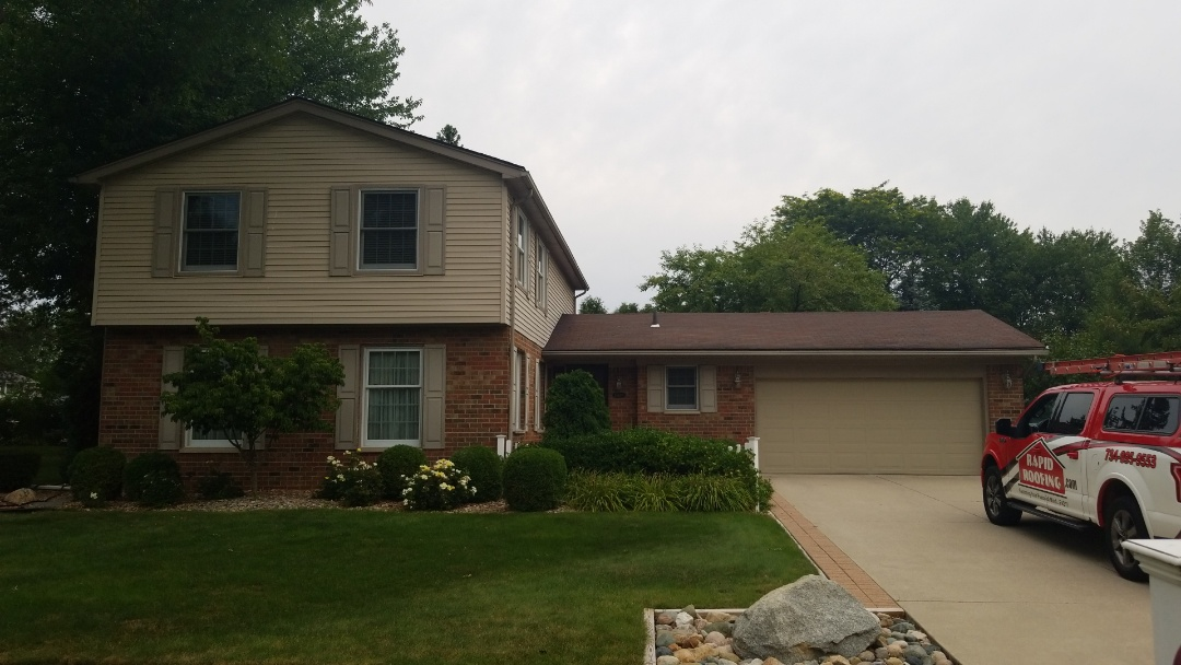 Plymouth, MI - New Customer will be installing a new GAF Armorshield roof Thursday!