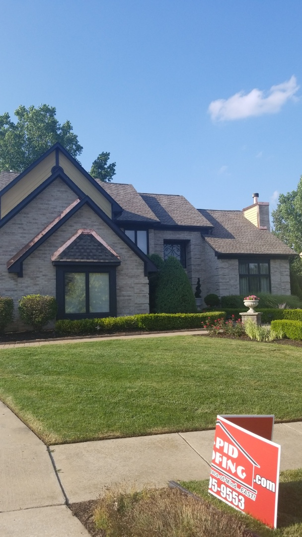 Canton, MI - Beautiful Armorshield roof system and copper flashing in Canton !