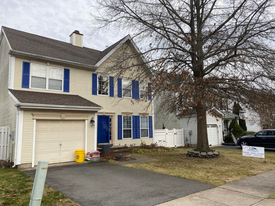 South Brunswick Township, NJ - New roof install, completion inspection