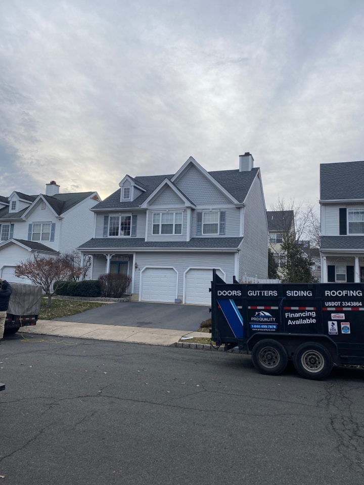 South Brunswick Township, NJ - Roof installation completion inspection.