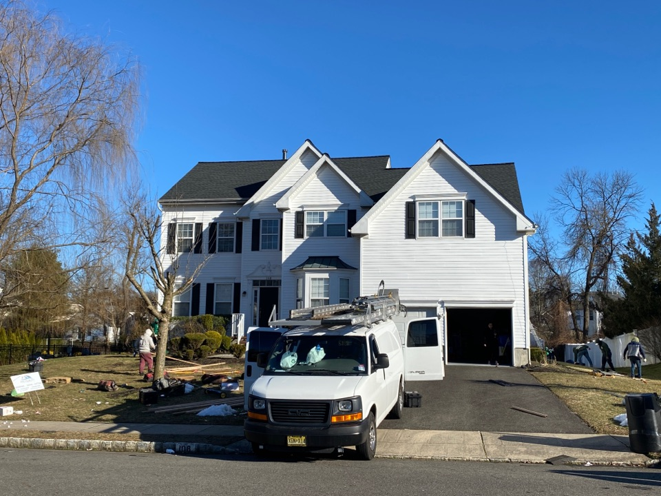 Burlington, NJ - Roof installation project completion inspection