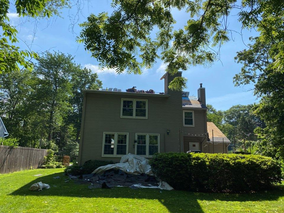 Pennington, NJ - New roof installation