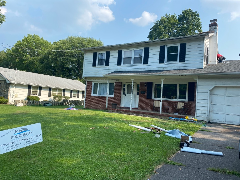 Lawrence Township, NJ - New roof installation inspection