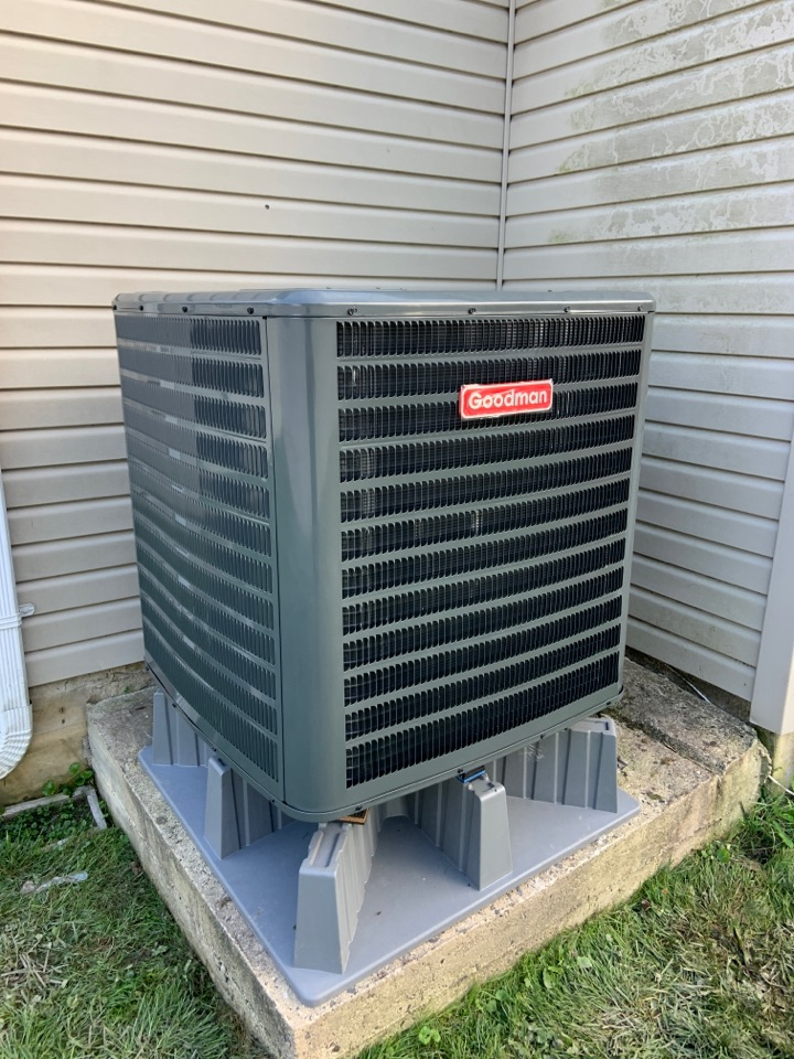 Installed a new Goodman unit in Langhorne, PA