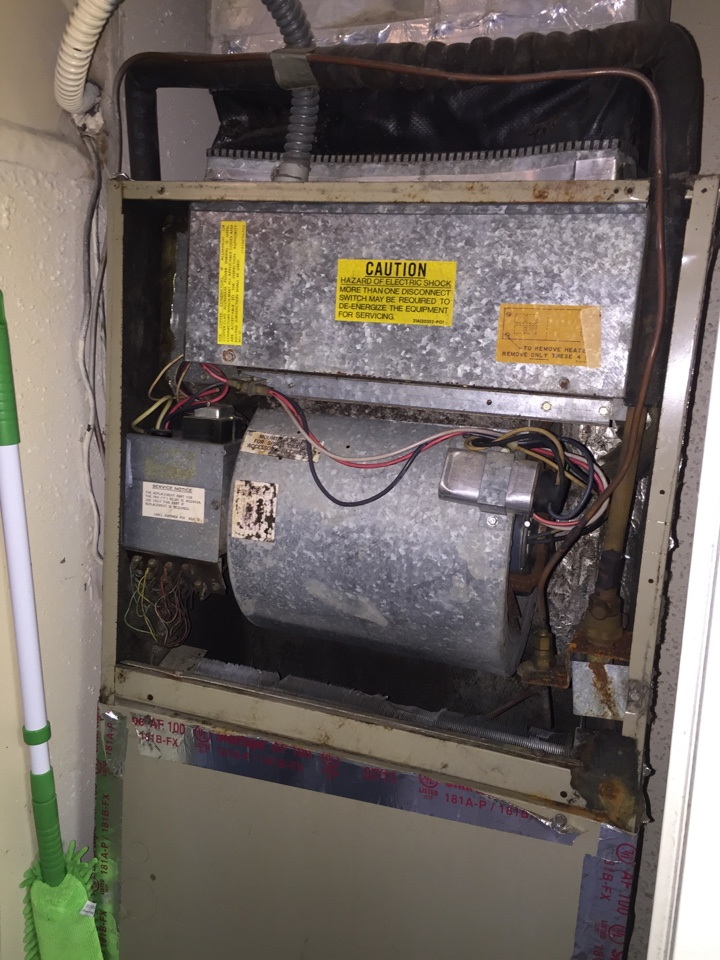 Richardson, TX - Estimate for new heat pump and fan coil