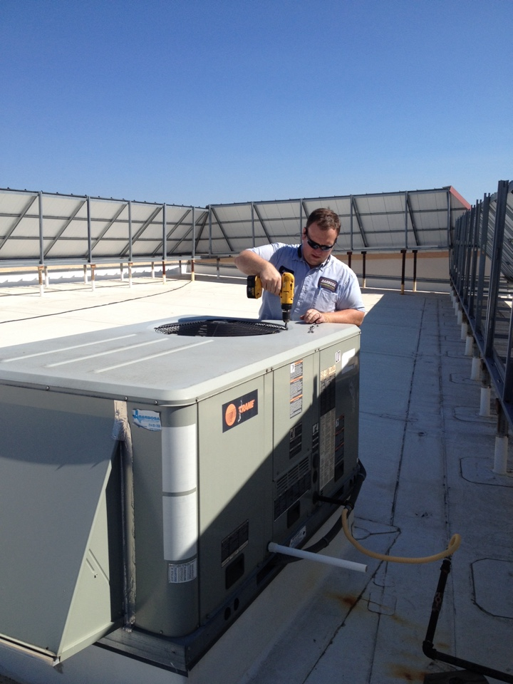 Richardson, TX - Commercial Hvac checkup & filter change
