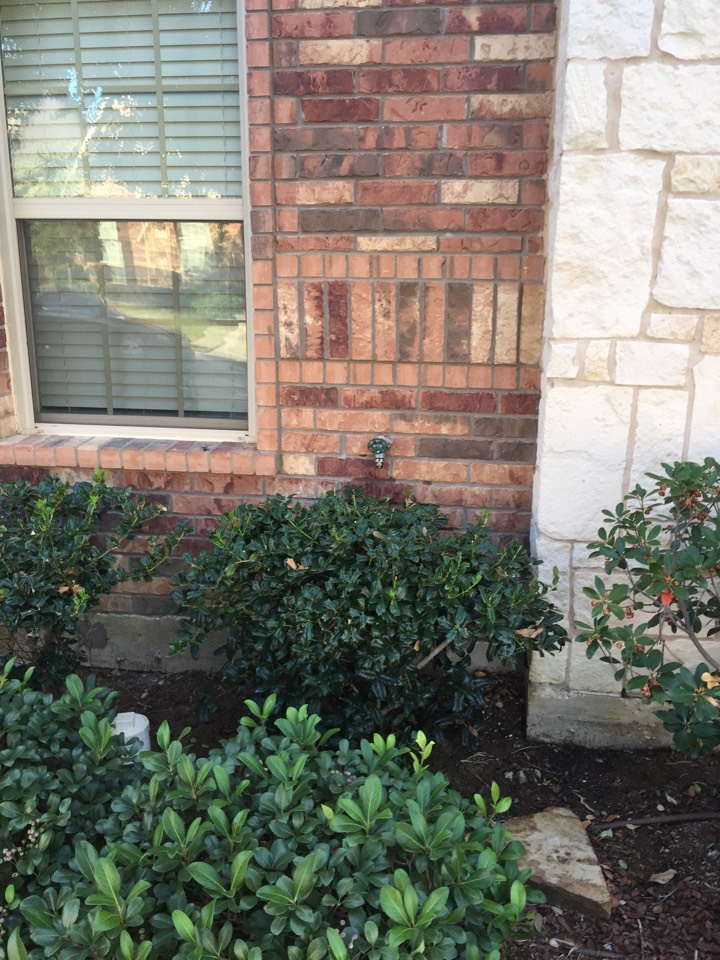 Lewisville, TX - Replace leaking outdoor faucet