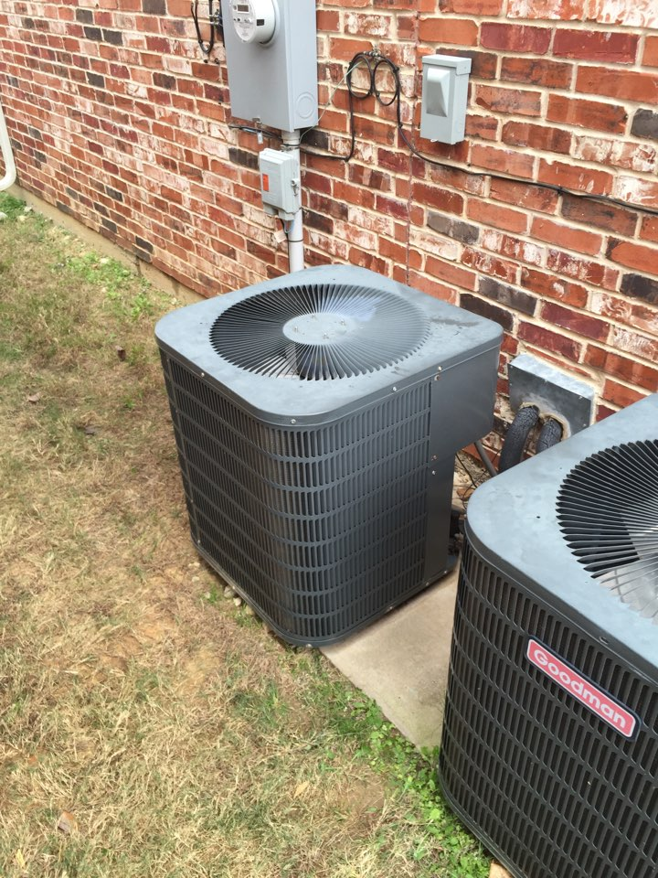 Fort Worth, TX - No cooling, recharged system, left system operational