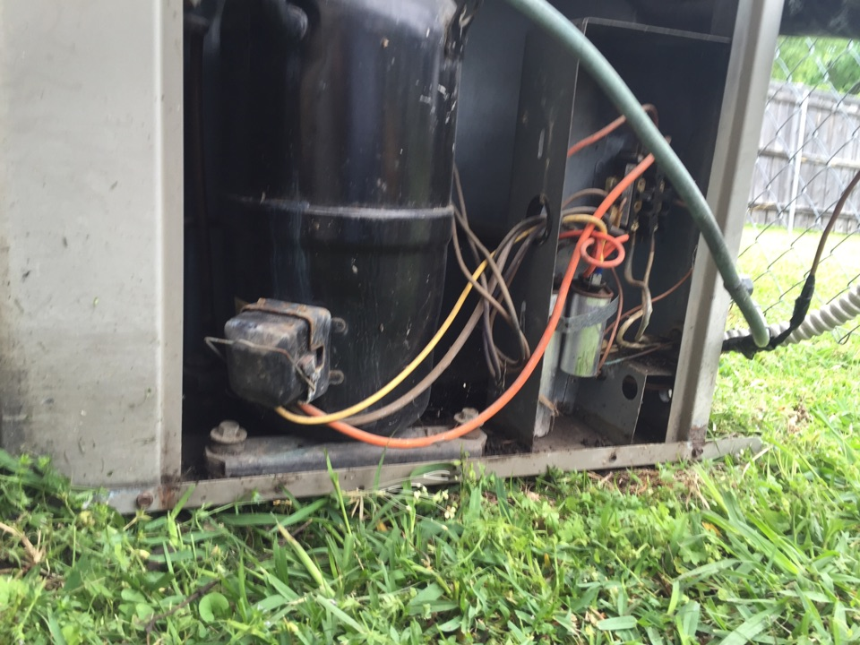 Farmers Branch, TX - Lennox furnace maintenance and air conditioner filter change.