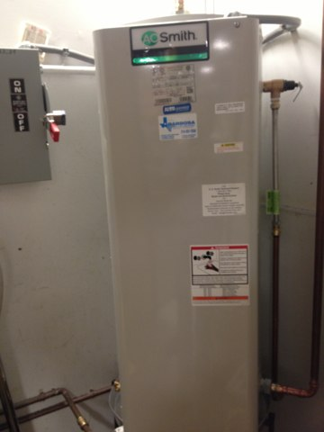 Grand Prairie, TX - Water heater install Pet Smart