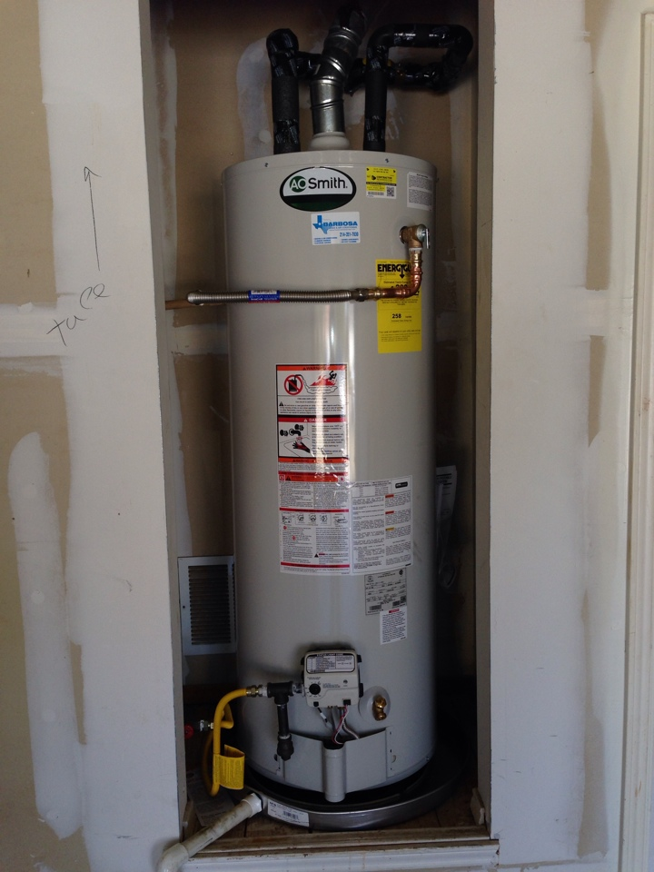 Lake Dallas, TX - Water heater installation in Lake Dallas, TX