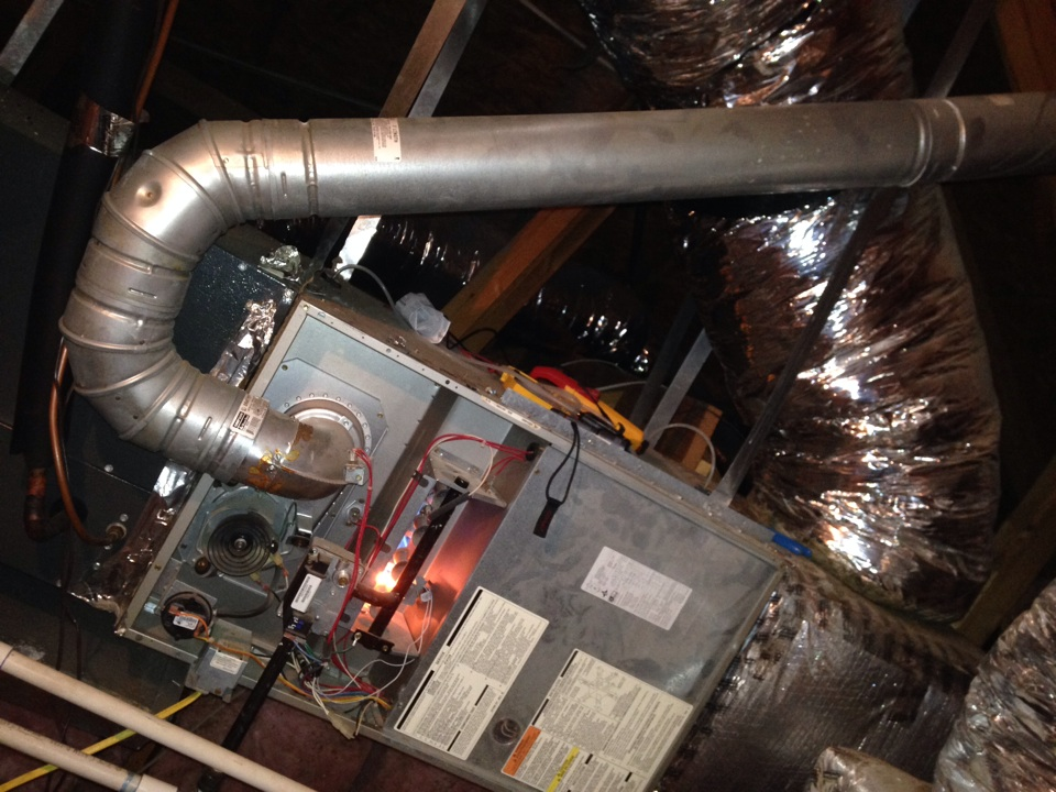Garland, TX - Air conditioning tune up for carrier AC units furnace inspection and cleaning