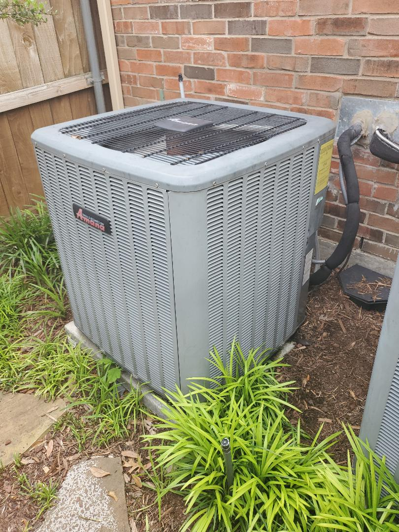 Plano, TX - No AC service call. Minor repair