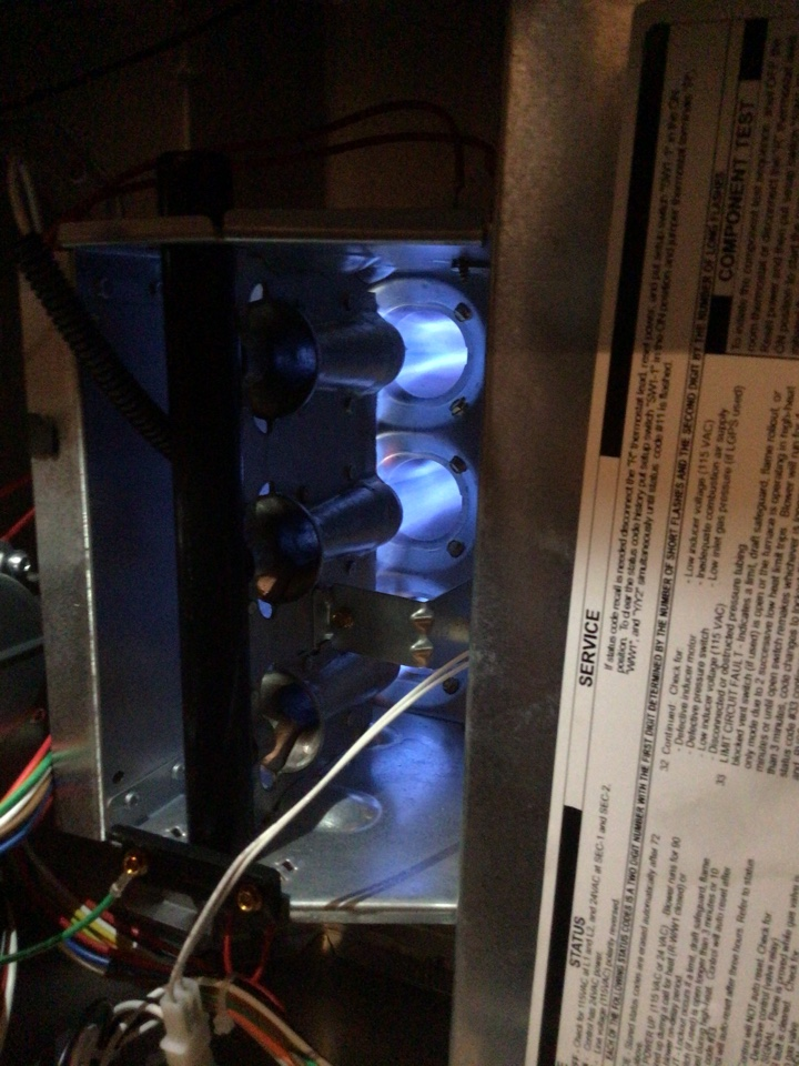 Lewisville, TX - Furnace maintenance with a minor furnace repair