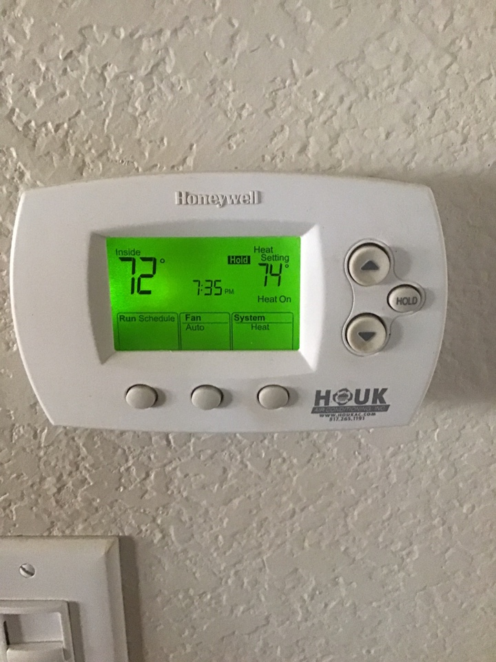 Lewisville, TX - 1 System Heating Tune Up and Inspection