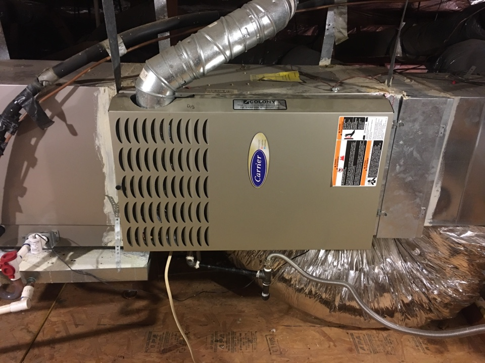 Flower Mound, TX - Performing a heating tune up on three Carrier gas furnaces