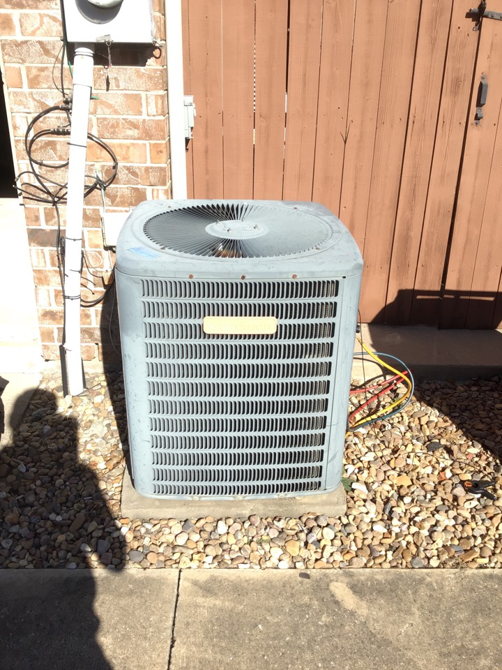 McKinney, TX - Heating tune up and a minor furnace repair.