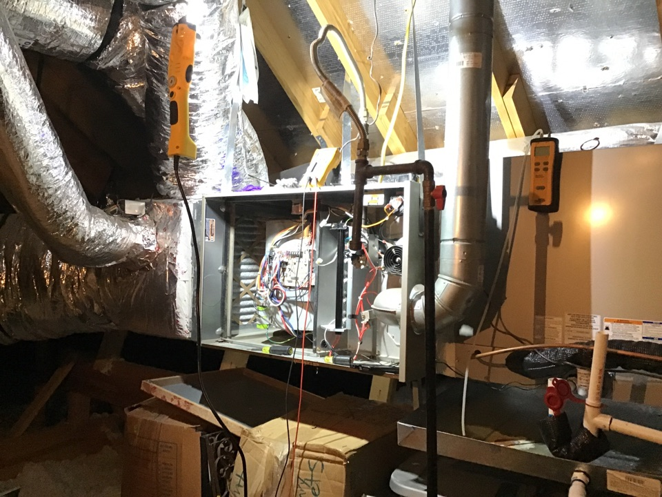 Frisco, TX - Completed 2 system annual heating tune up and safety check on CARRIER gas equipment in FRISCO.