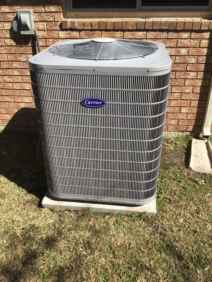 Coppell, TX - Performing ac tune up on one Carrier system