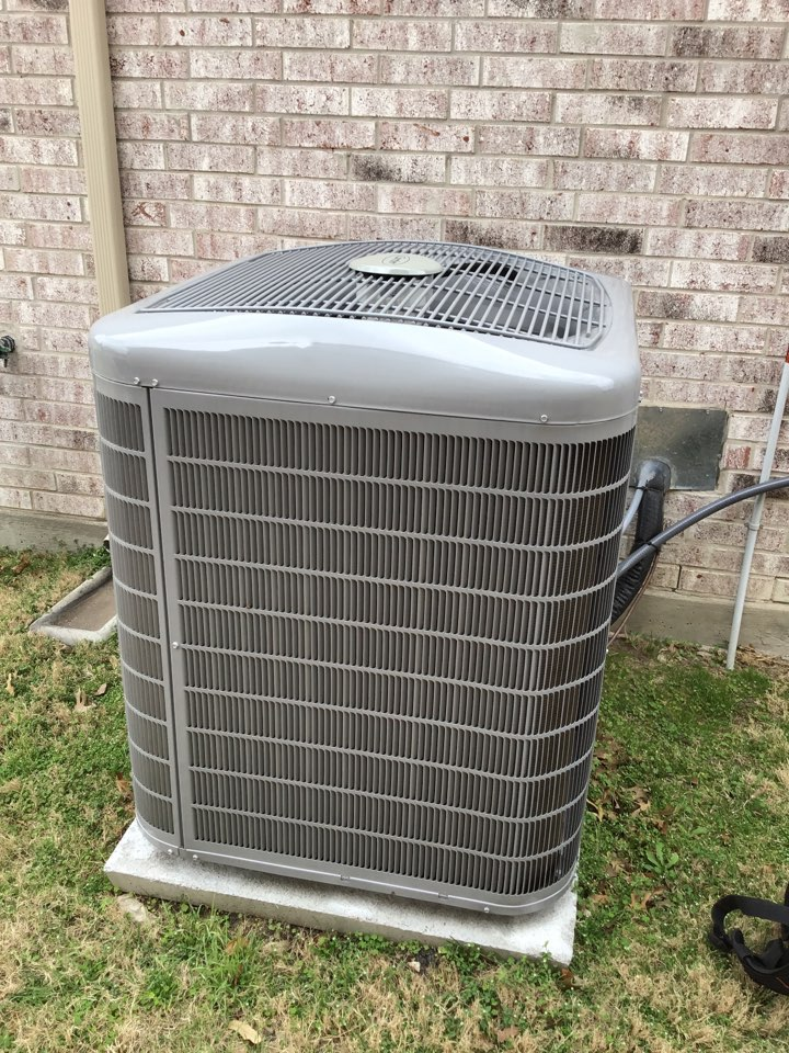 Plano, TX - Performed seasonal air conditioner tune up
