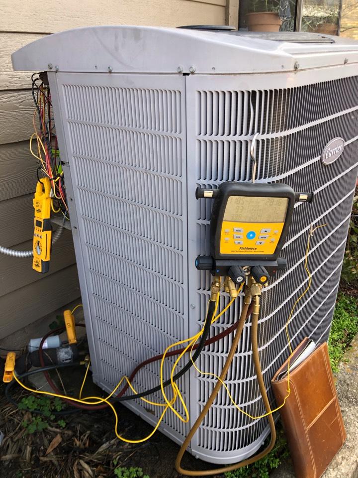 Lewisville, TX - CARRIER AC maintenance