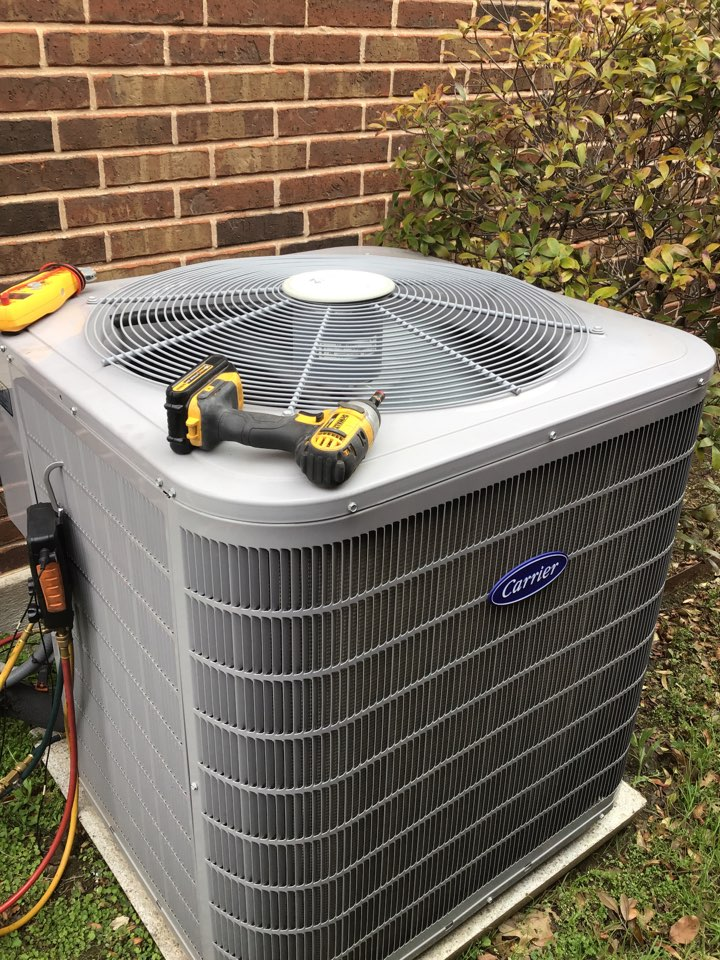 Plano, TX - Performed seasonal air conditioner tune up and an air conditioner repair