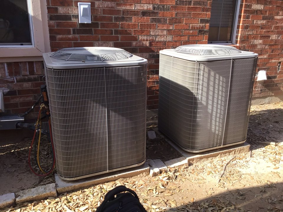 Plano, TX - Performing a cooling tune up on two Payne systems
