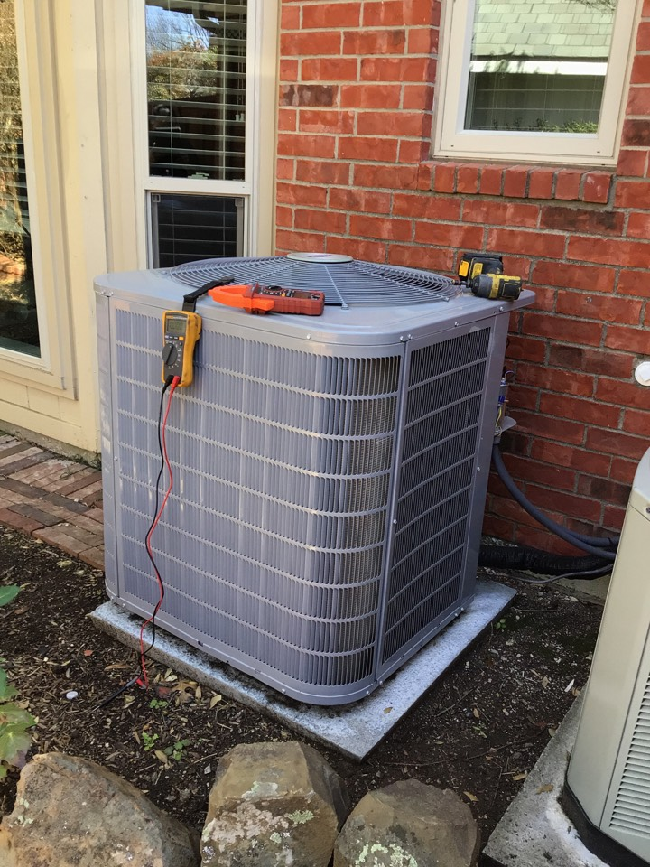 Carrollton, TX - Completed 2 system annual air conditioning tune up and safety check on a CARRIER and TRANE AC systems in Carrollton. Made some minor adjustments and repairs, added a drain safety to help prevent water damage, all else checks ok at this time.