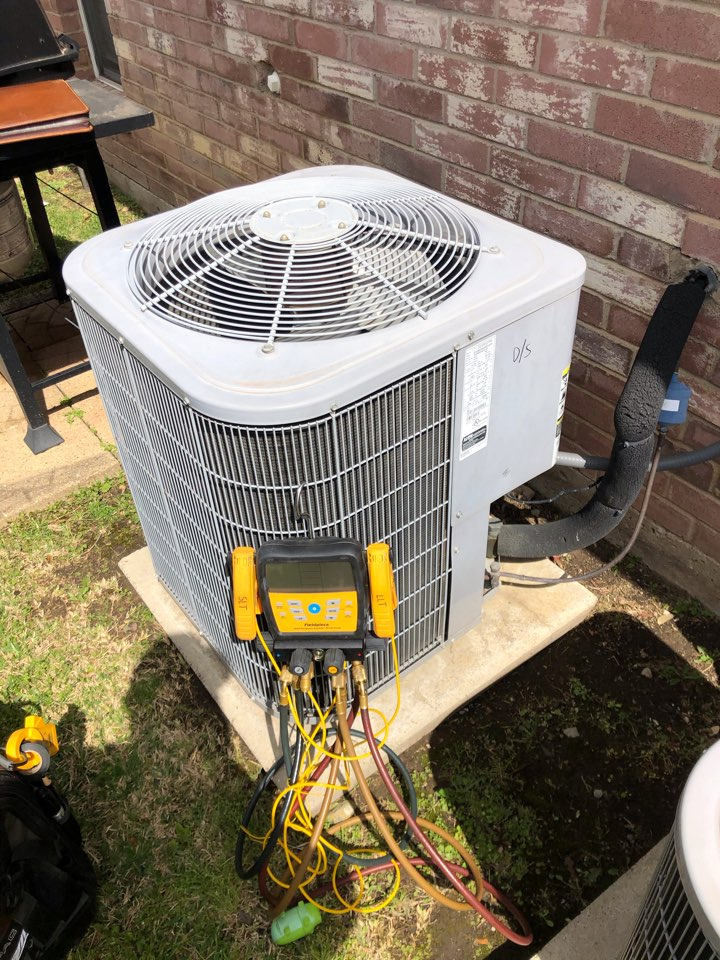 Coppell, TX - Air conditioning maintenance