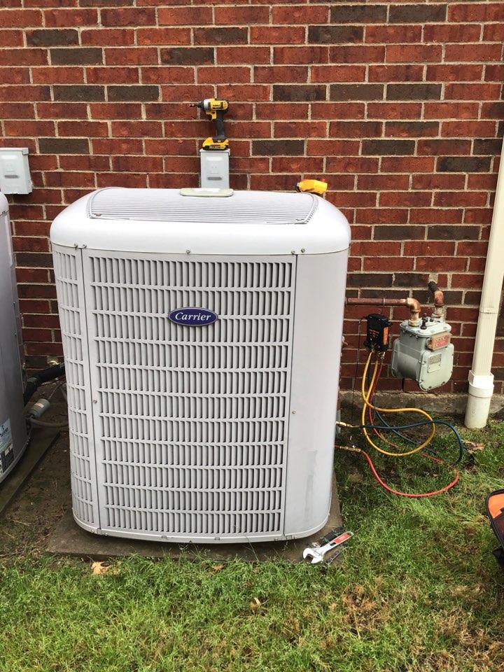 Carrollton, TX - Performed seasonal air conditioner tune up