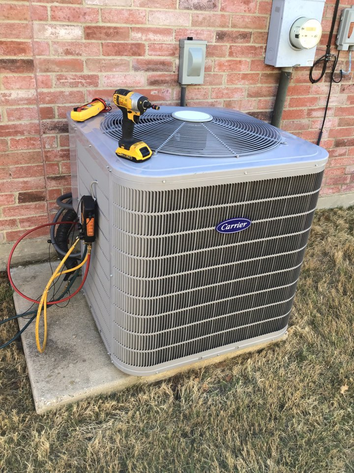 Little Elm, TX - Performed seasonal air conditioner tune up