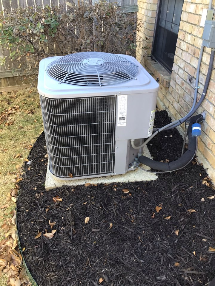 Carrollton, TX - Performing a cooling tune up on one Carrier system