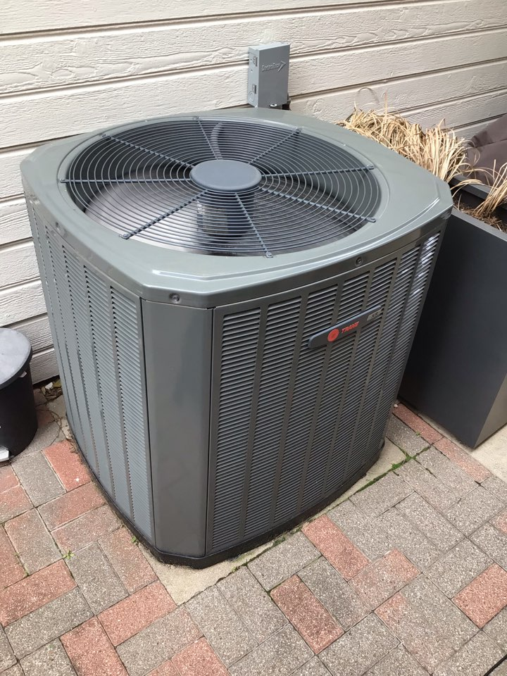 Dallas, TX - Performing a Cooling tune up on two Trane systems